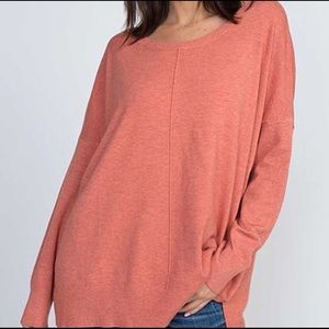 Sweaters - Brand New Coral Sweater - Perfect for Spring!!